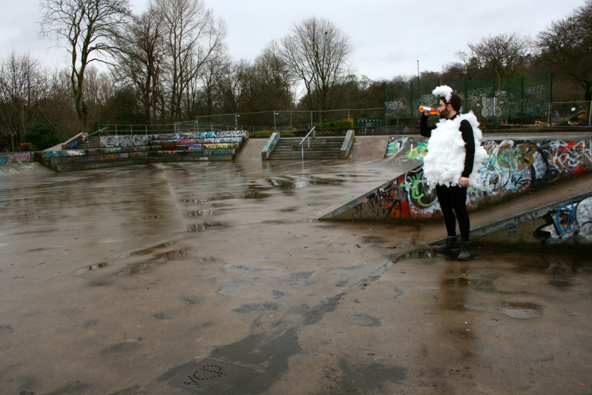 Lost Sheep in Glasgow ('Shite' Skate Park) by Blake Peterson & Zoe Phillips (2011)