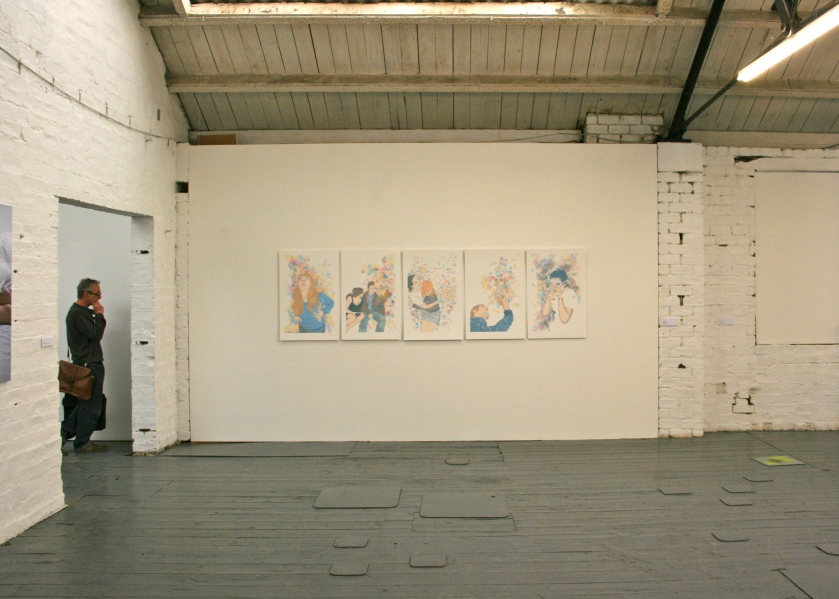 6 – 17 June 2012: Glasgow School of Art MFA Degree Show at the Glue Factory; Glasgow, Scotland, UK
