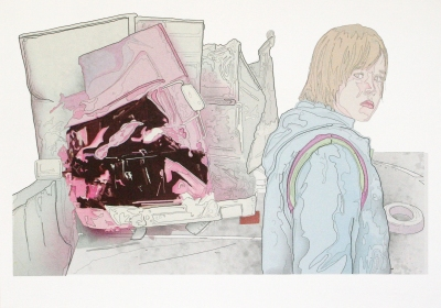 """Title: """"Scene 12: The End"""" by Blake Peterson (2012) Medium: Lithograph Dimensions: 11 x 17 in Edition Info: 15"""