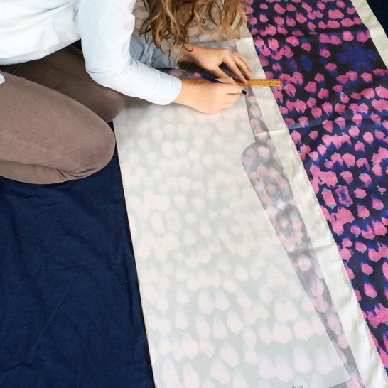 """Constructing the """"Pink Raspberries"""" Dress by Blake Peterson and Zoe Phillips"""