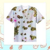 """""""Glitter Cheeta"""" T-Shirt"""